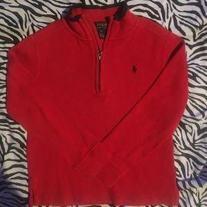 Ralph Lauren 1/4 Zip Sweater size 6